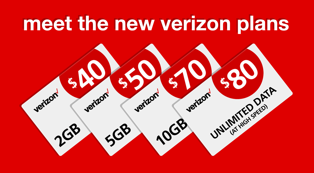 Verizon Prepaid Refill - New denominations now available