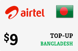 $9.00 Airtel Bangladesh Prepaid Wireless Top-Up