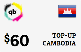 $60.00 CADCOMMS Cambodia Prepaid Wireless Top-Up
