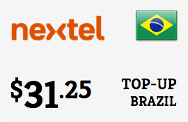 $31.25 Nextel Brazil Prepaid Wireless Top-Up