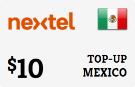 $10.00 Nextel Mexico Prepaid Wireless Top-Up
