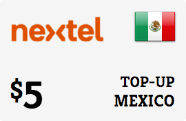 $5.00 Nextel Mexico Prepaid Wireless Top-Up