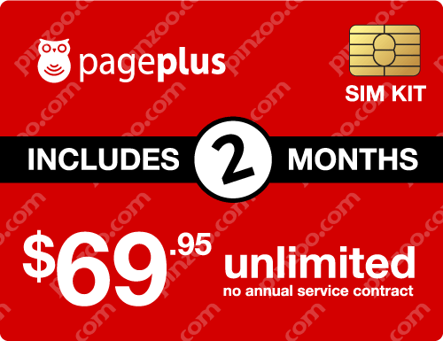 $149.90 Page Plus® Prepaid Wireless SIM Cards