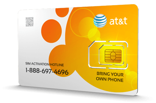 AT&T Go Phone<sup>&reg;</sup> Prepaid Wireless SIM Cards