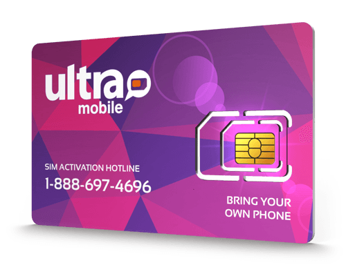 Ultra Mobile<sup>&reg;</sup> Prepaid Wireless SIM Cards