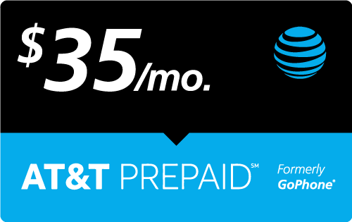 $34.97 AT&T PREPAID℠ Real Time Refill Minutes