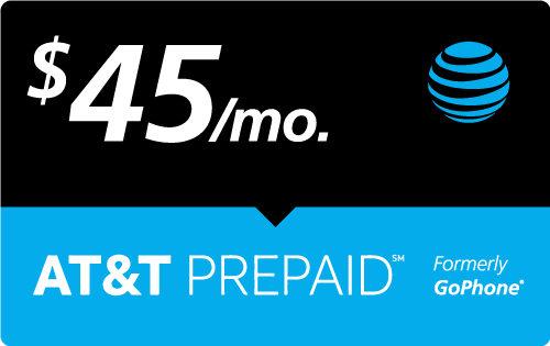 Buy the $45.00 AT&T Go Phone® Real Time Refill Minutes | On SALE for Only $44.89