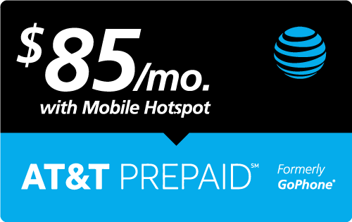 $84.89 AT&T PREPAID℠ Real Time Refill Minutes