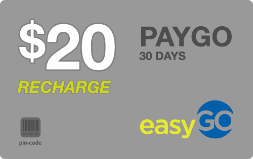$19.59 EasyGo Wireless® Refill Minutes Instant Prepaid Airtime