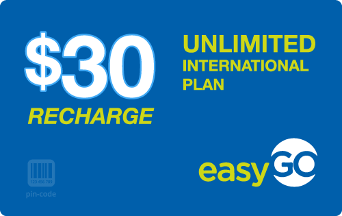 $29.68 EasyGo Wireless® Refill Minutes Instant Prepaid Airtime