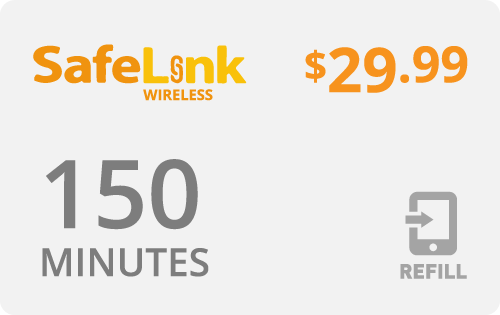Buy the $29.99 Safelink Wireless® Refill Minutes Instant Prepaid Airtime | On SALE for Only $29.79