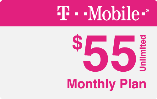 $55.00 T-Mobile® Real Time Refill Minutes