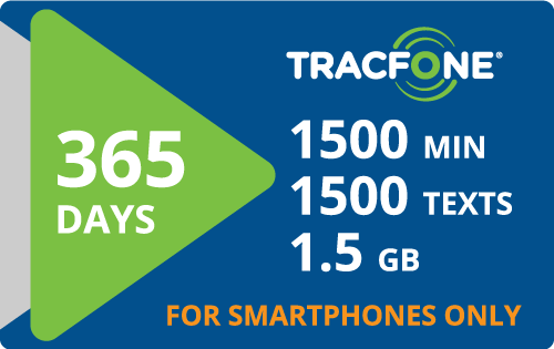 $125.00 Tracfone® Refill Minutes Instant Prepaid Airtime