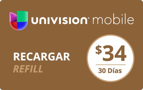 Buy the $35.00 Univision Mobile® Real Time Refill Minutes | On SALE for Only $34.98