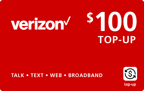 $99.59 Verizon Wireless® Real Time Refill Minutes