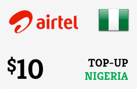 $10.00 Airtel Nigeria Prepaid Wireless Top-Up