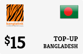 $15.00 Banglalink Bangladesh Prepaid Wireless Top-Up