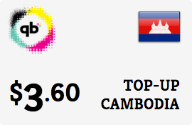 $3.60 CADCOMMS Cambodia Prepaid Wireless Top-Up
