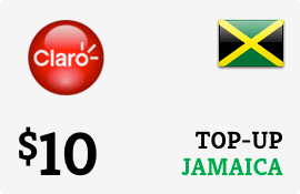 $10.00 Claro Jamaica  Prepaid Wireless Top-Up