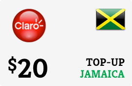 $20.00 Claro Jamaica  Prepaid Wireless Top-Up