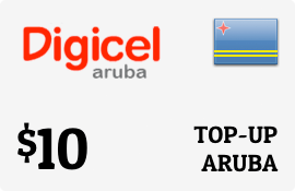 $10.00 Digicel Aruba Prepaid Wireless Top-Up