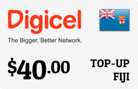 $40.00 Digicel Fiji Prepaid Wireless Top-Up