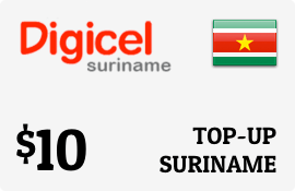 $10.00 Digicel Suriname Prepaid Wireless Top-Up