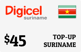 $45.00 Digicel Suriname Prepaid Wireless Top-Up
