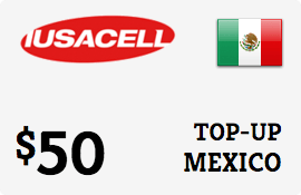 $50.00 Iusacell Mexico Prepaid Wireless Top-Up