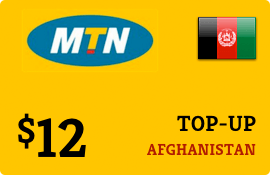 $12.00 MTN Afghanistan Prepaid Wireless Top-Up