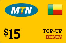 $15.00 MTN Benin Prepaid Wireless Top-Up