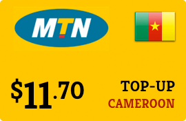 $11.70 MTN Cameroon Prepaid Wireless Top-Up