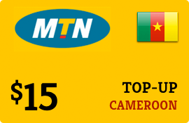 $15.00 MTN Cameroon Prepaid Wireless Top-Up