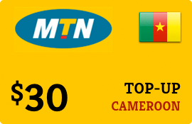 $30.00 MTN Cameroon Prepaid Wireless Top-Up