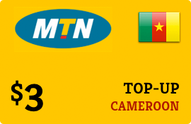 $3.00 MTN Cameroon Prepaid Wireless Top-Up