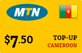 $7.50 MTN Cameroon Prepaid Wireless Top-Up