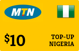 $10.00 MTN Nigeria  Prepaid Wireless Top-Up