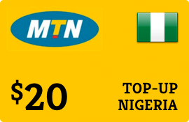 $20.00 MTN Nigeria  Prepaid Wireless Top-Up