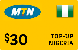 $30.00 MTN Nigeria  Prepaid Wireless Top-Up
