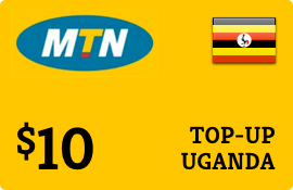 $10.00 MTN Uganda Prepaid Wireless Top-Up