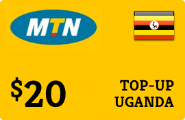 $20.00 MTN Uganda Prepaid Wireless Top-Up