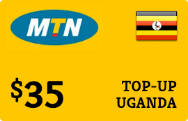 $35.00 MTN Uganda Prepaid Wireless Top-Up