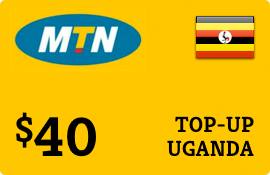 $40.00 MTN Uganda Prepaid Wireless Top-Up