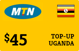 $45.00 MTN Uganda Prepaid Wireless Top-Up