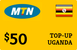 $50.00 MTN Uganda Prepaid Wireless Top-Up