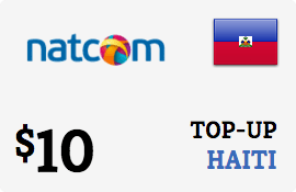 $10.00 Natcom Haiti Prepaid Wireless Top-Up