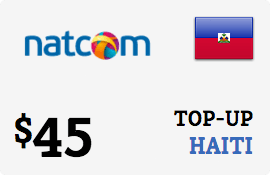 $45.00 Natcom Haiti Prepaid Wireless Top-Up