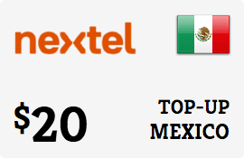 $20.00 Nextel Mexico Prepaid Wireless Top-Up