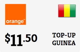 $11.50 Orange Guinea-Conakry Prepaid Wireless Top-Up