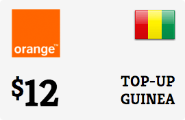 $12.00 Orange Guinea-Conakry Prepaid Wireless Top-Up